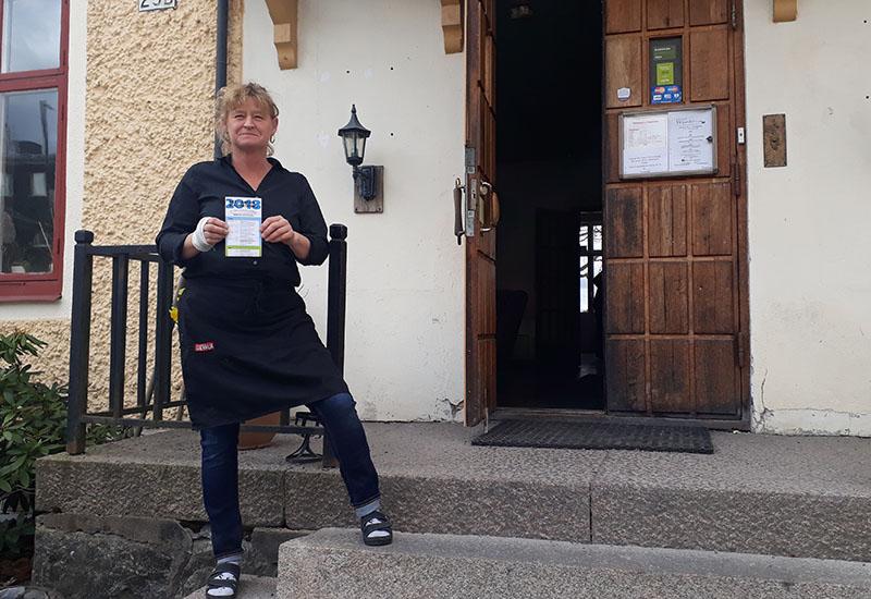 Lena på Wärdshuset.